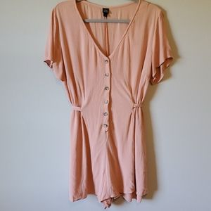 Wild Fable Plus Size Summer Pink Romper